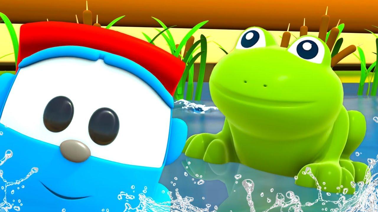 Bebek şarkıları! Leo ile küçük kurbağa şarkısı! Çocuklar için en güzel çizgi filmler