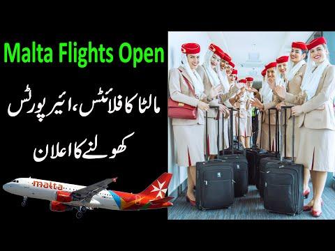 MALTA will open its international Airport to all Flight From July 15 - Malta Flights
