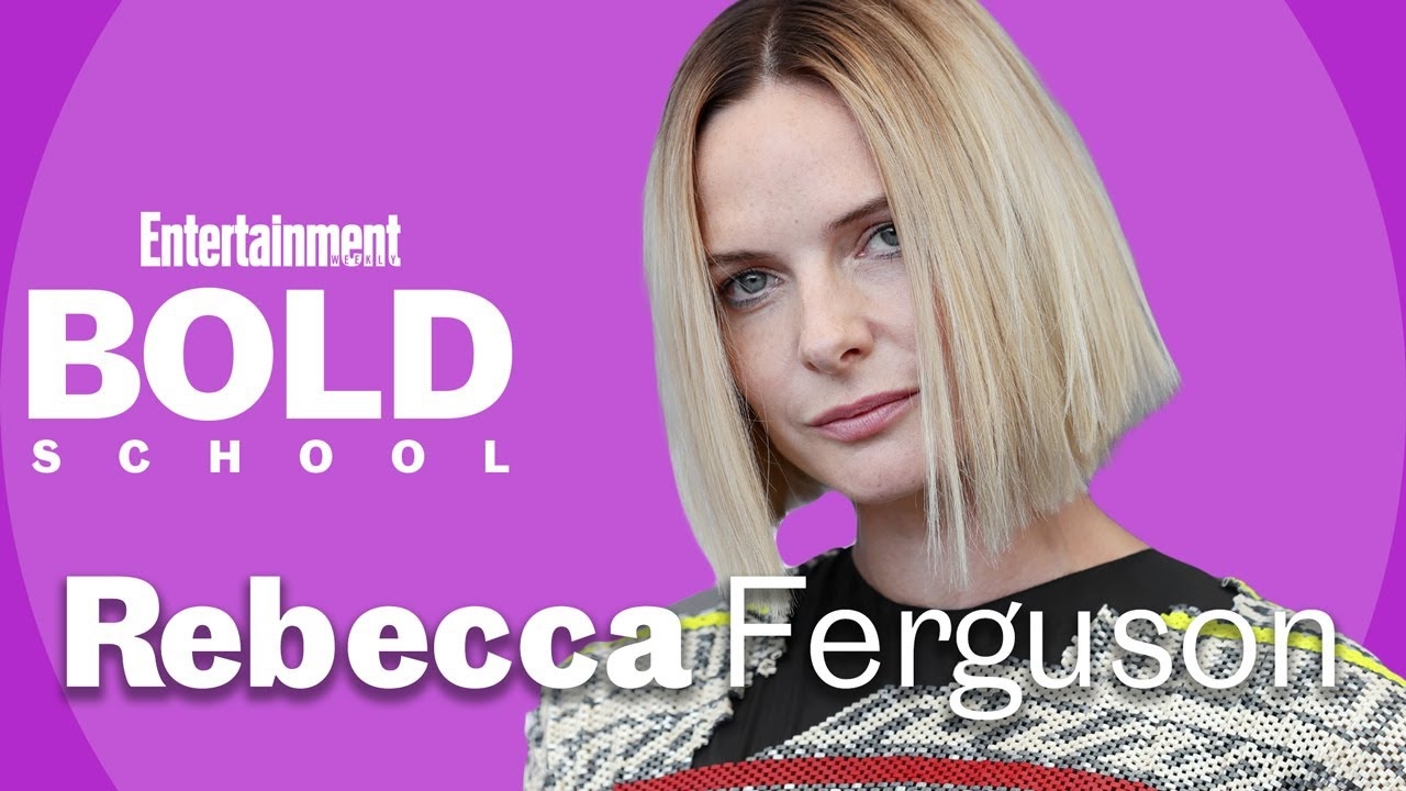 Rebecca Ferguson On Taking Life Lessons From Her Roles | Bold ...