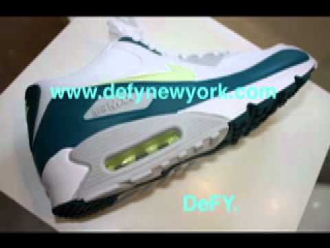 Nike Air Max 90 Spruce Lime JD Sports Exclusive 2008 - YouTube c496ca407c