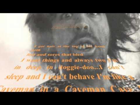 CAVEMAN CAVE with Lyrics  -  Jon Ray Leslie / Runaway Veal Music
