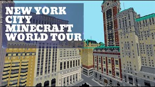 Minecraft New York City | Amazing City World Tour (cinematic)