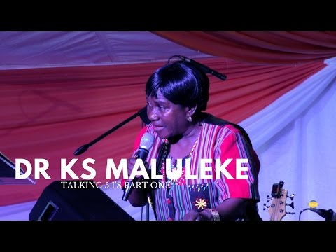 MHANI (DR KS) MALULEKE TALKING 5 I's (PART 1)