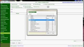 How to Cancel Fee Receipt in VinHaze school management system (English)