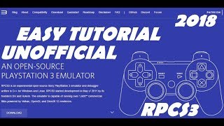 how to download rpcs3 2018