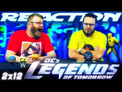 """Legends of Tomorrow 2x12 REACTION!! """"Camelot/3000"""""""