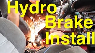 How to Install a Hydraulic handbrake | e-brake | 1jz Supra