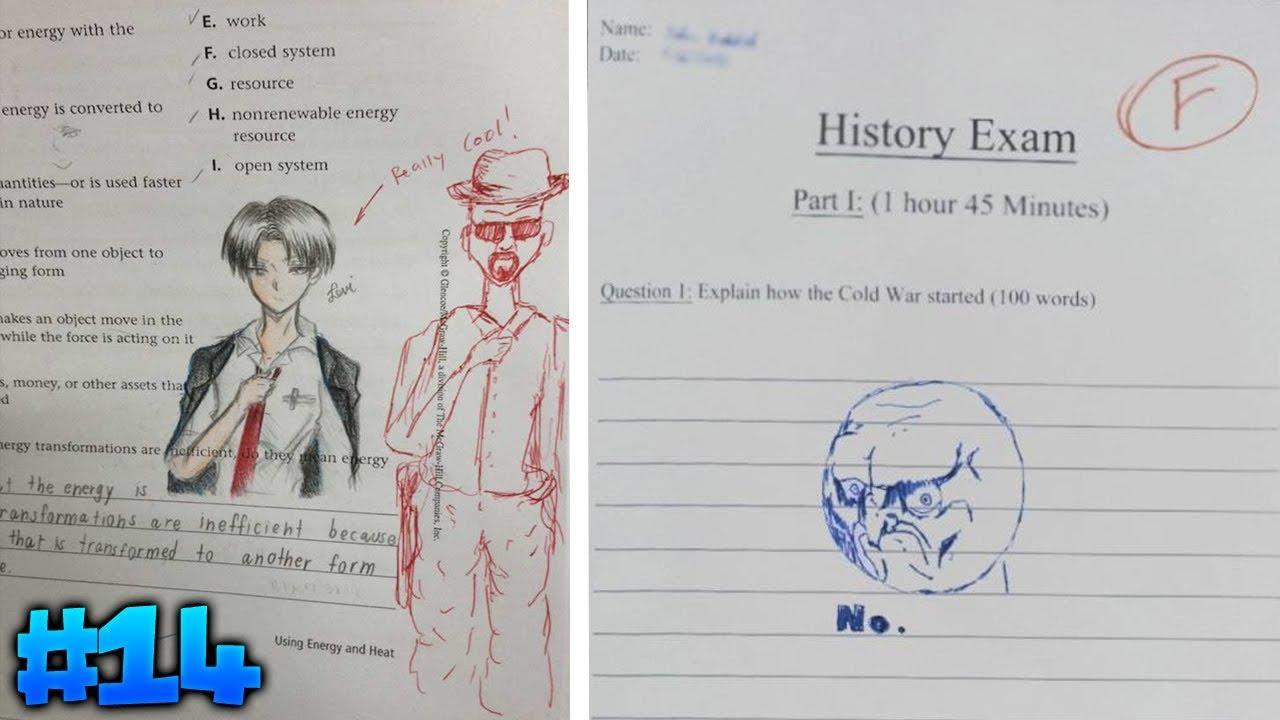 10 Respuestas de exámenes graciosas #14