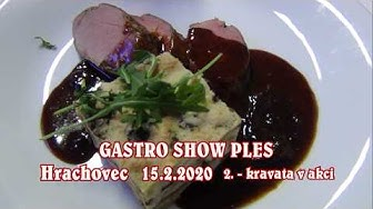 20200215 Gastro show ples Hrachovec 2020 2_Kravata v talíři