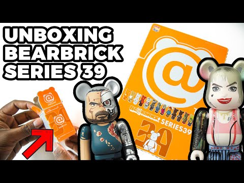 UNBOXING Bearbrick Series 39 Blind Boxes! - Including Harley Quinn & Terminator