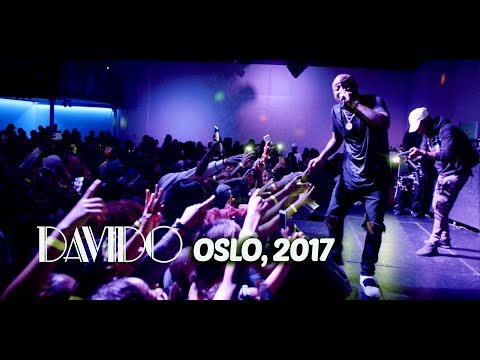 DAVIDO LIVE IN OSLO 2017 | FULL VIDEO