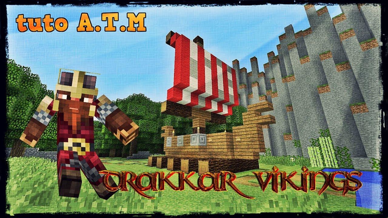 2 » de lug 2, auquel 909 utilisateurs de pinterest sont abonnés. Minecraft Tuto Comment Faire Un Drakkar Viking A T M Youtube