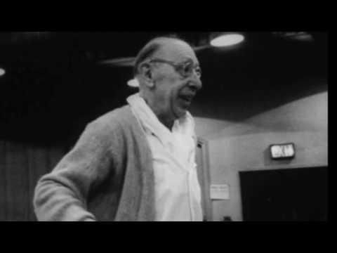 Stravinsky - Concertino for String Quartet