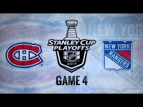 Lundqvist leads Rangers past Habs, 2-1, in Game 4