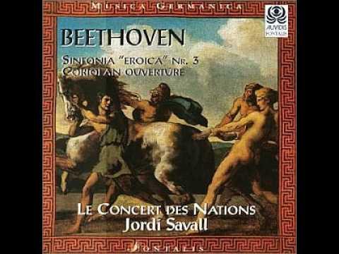 """L.V. Beethoven - Symphony No.3 E-flat major, Op.55 """"Eroica"""" / Jordi Savall"""
