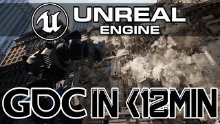 Unreal Engine 2019 GDC Keynote in under 12 Minutes!