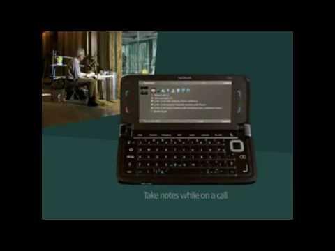 Nokia E90 Commercial