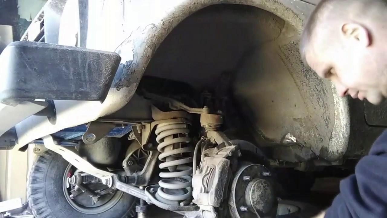 замена гранаты на ниве ВАЗ-2121