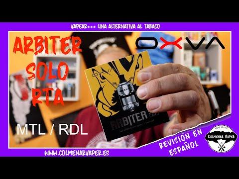 ARBITER SOLO RTA. RDL / MTL de OXVA