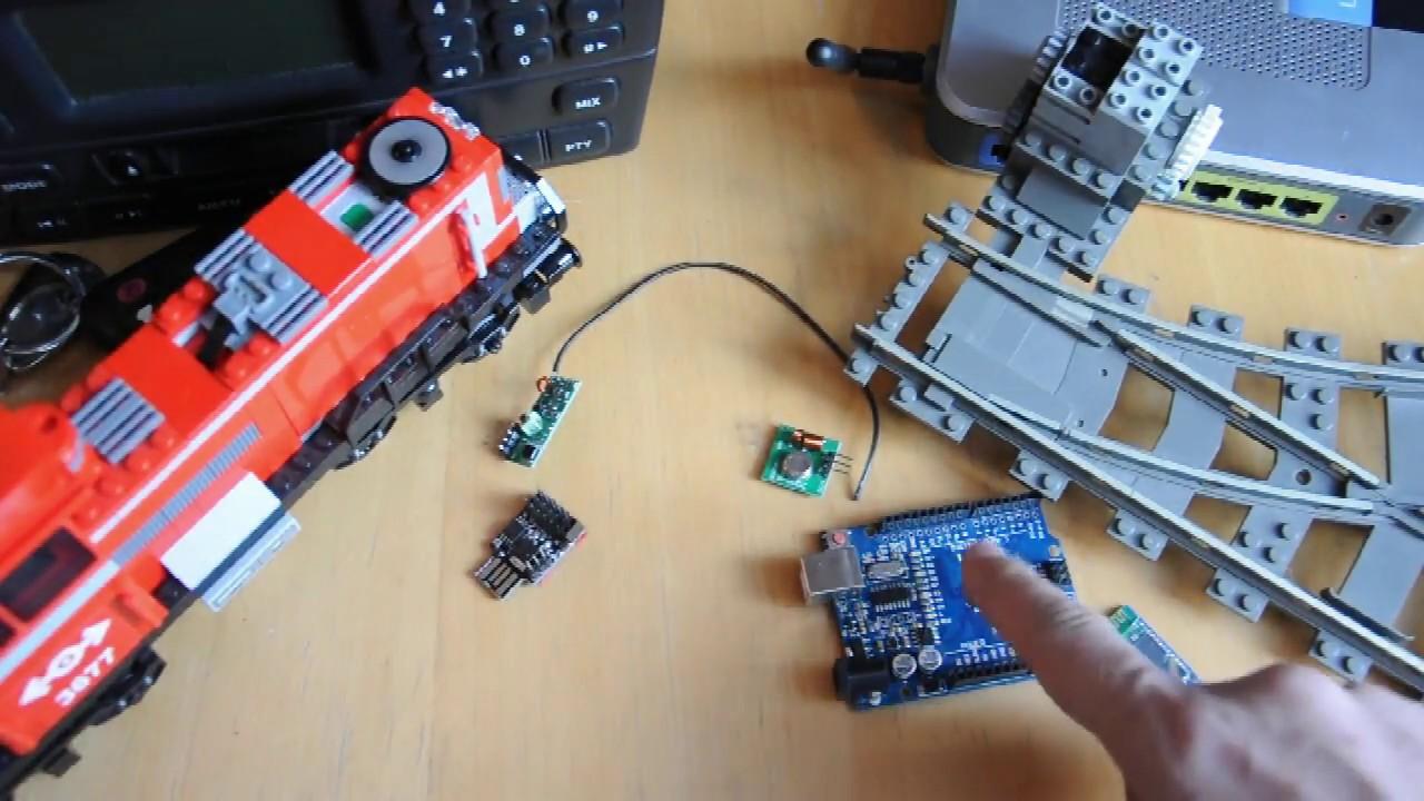 Arduino for lego trains mhz wireless