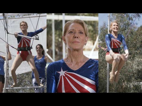 Brooksie - VIDEO: 85 year old sets world record for oldest trapeze artist