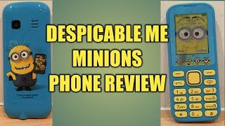 Despicable me minions phone Review UK