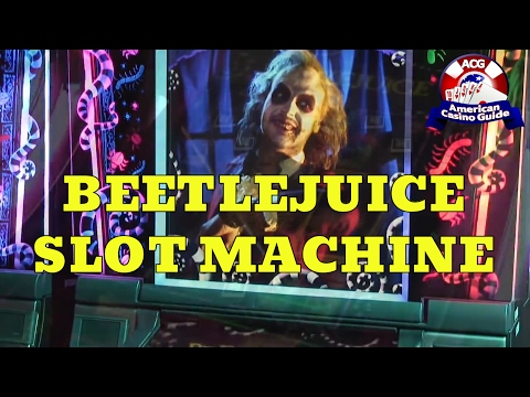 """Beetlejuice"" Slot Machine From WMS Gaming"