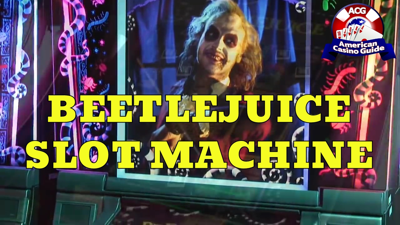 Beetlejuice slot machine las vegas large wallet with lots of card slots