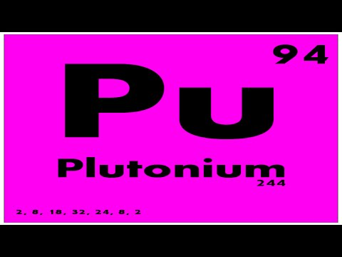 Study Guide 94 Plutonium Periodic Table Of Elements Youtube