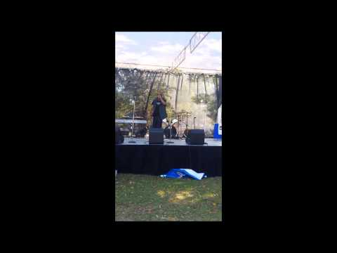 Domi Dow Jones performing @ Fayetteville State iMusic Festival