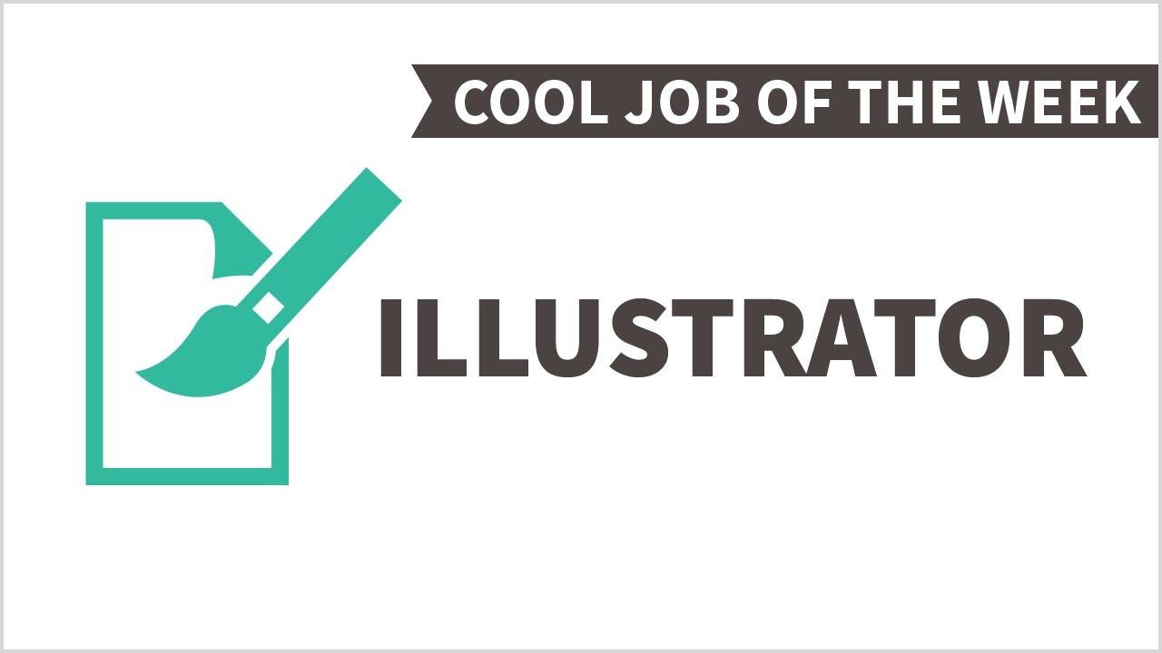 cool job of the week illustrator cool job of the week illustrator
