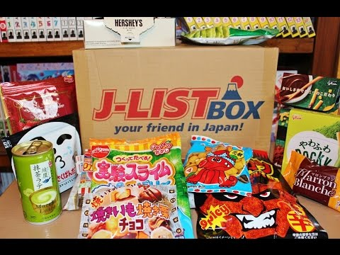 J-List DX Snack Box UNBOXING | November