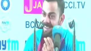 (Never Seen)!! FUNNY PRESS CONFERENCE of VIRAT KOHLI !!!