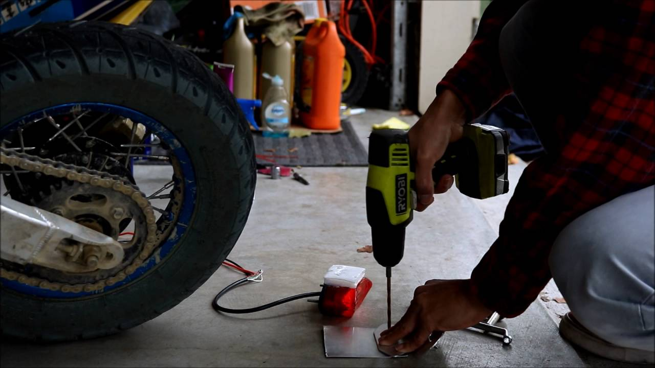Adding Lights To Pitbike Youtube Pit Bike Stator Wiring Diagram Further Harness
