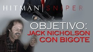 Objetivo: Jack Nicholson con Bigote - Hitman: Sniper iOS