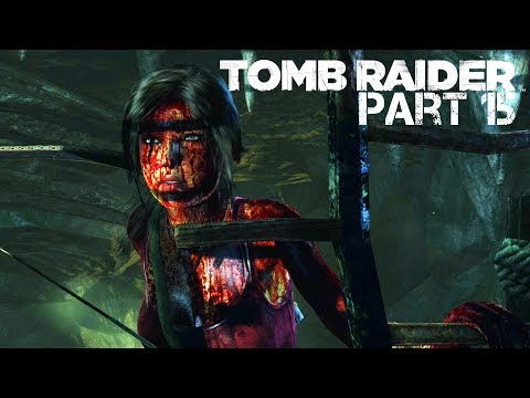 Tomb Raider - #15 - Geothermal Caverns - (4K60FPS) - No Commentary