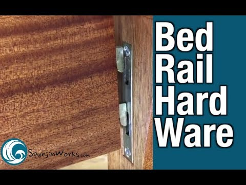 Rockler Heavy Duty Bed Rail Fasteners // How-To (Ep. 51)