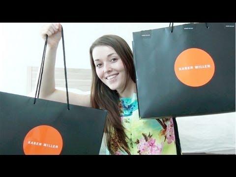 Shoplog Karen Millen en Zara