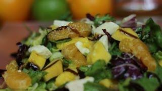 Przepis na: Sałatka z mango i mozzarellą