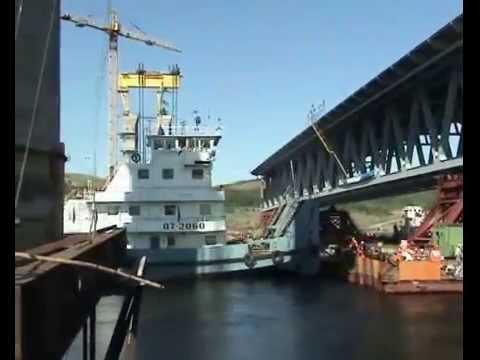 Как строили императорский мост в ульяновске