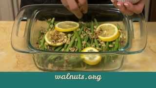 #simplygood Green Beans With Walnuts