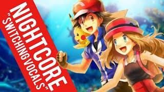 Repeat youtube video Nightcore | God is a Girl ✗ Pika Girl (Switching Vocals)