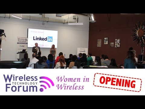 Opening - Women in Wireless - Enhancing Perception to Gain Recognition