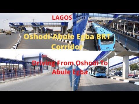 Download Driving From Oshodi To Abule Egba, Lagos, Nigeria || Oshodi Abule Egba BRT Corridor