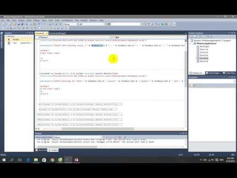 hướng dẫn kết nối access vs form trong vb.net