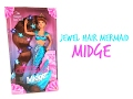 1995 JEWEL HAIR MERMAID MIDGE - BARBIE DOLL REVIEW