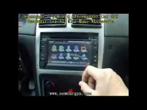 For Car Stereo Installation Wiring Diagram Peugeot 307 Dvd Gps Navigation System Youtube