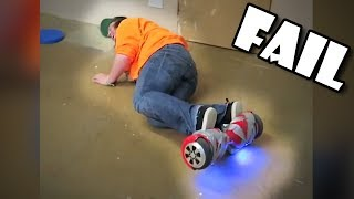 Epic Hoverboard fails Compilation January 2019 | FunToo