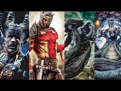 Dante's Inferno - All Bosses (With Cutscenes) [HD]