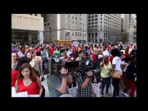Bring Back Our Girls Rally in Chicago